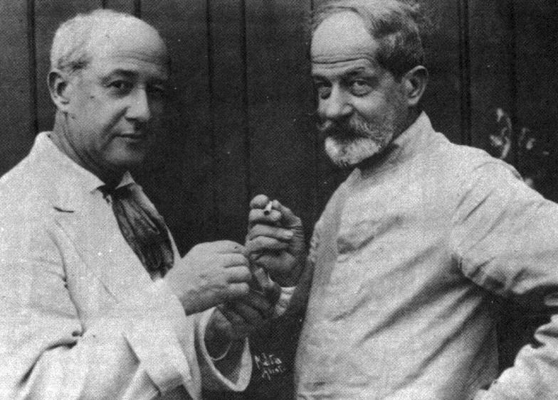 Henrique e Rodolpho Bernardelli (Foto: Augusto Malta)