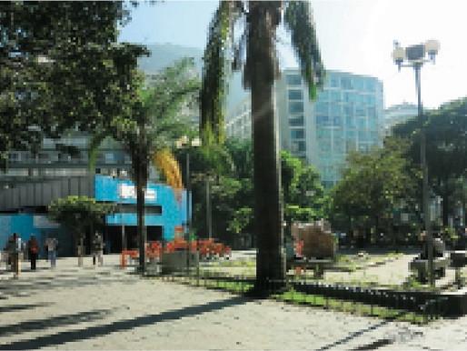 Praça Cardeal Arcoverde sofre modificações ao longo de sua história