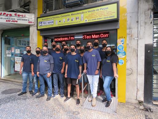 Tec Man: loja em Copacabana realiza consertos de eletrodomésticos com seriedade