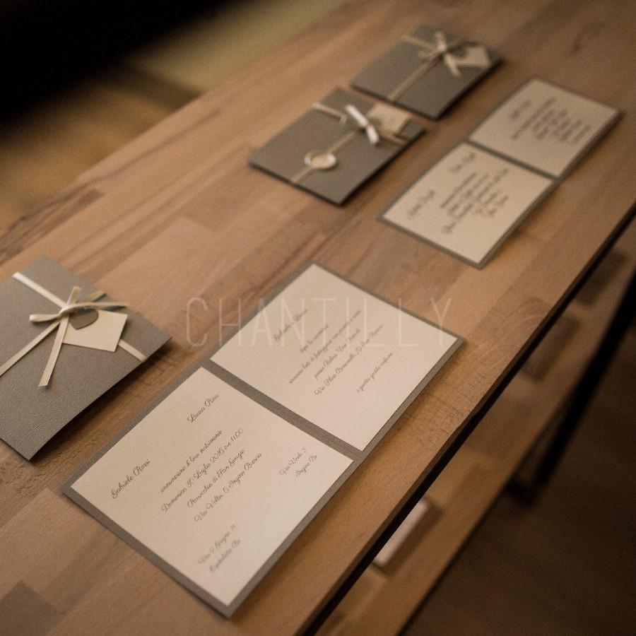 Partecipazioni Matrimonio Brescia.Partecipazioni Matrimonio Chantilly Travagliato Brescia