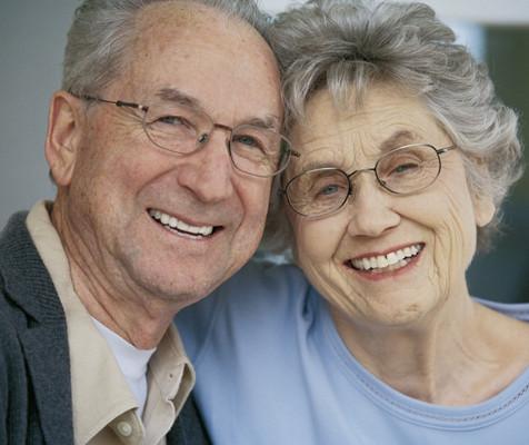 Les grands-parents heureux