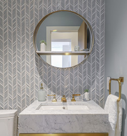 Sacha Jacq Interiors - Powder Room