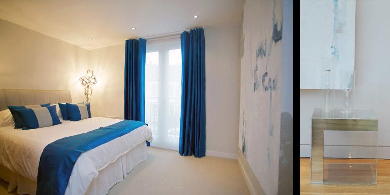 Vibrant Guest Bedroom