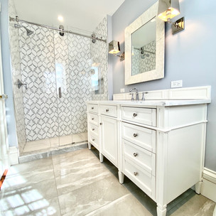 Dedham-Completed Second Master Bathroom