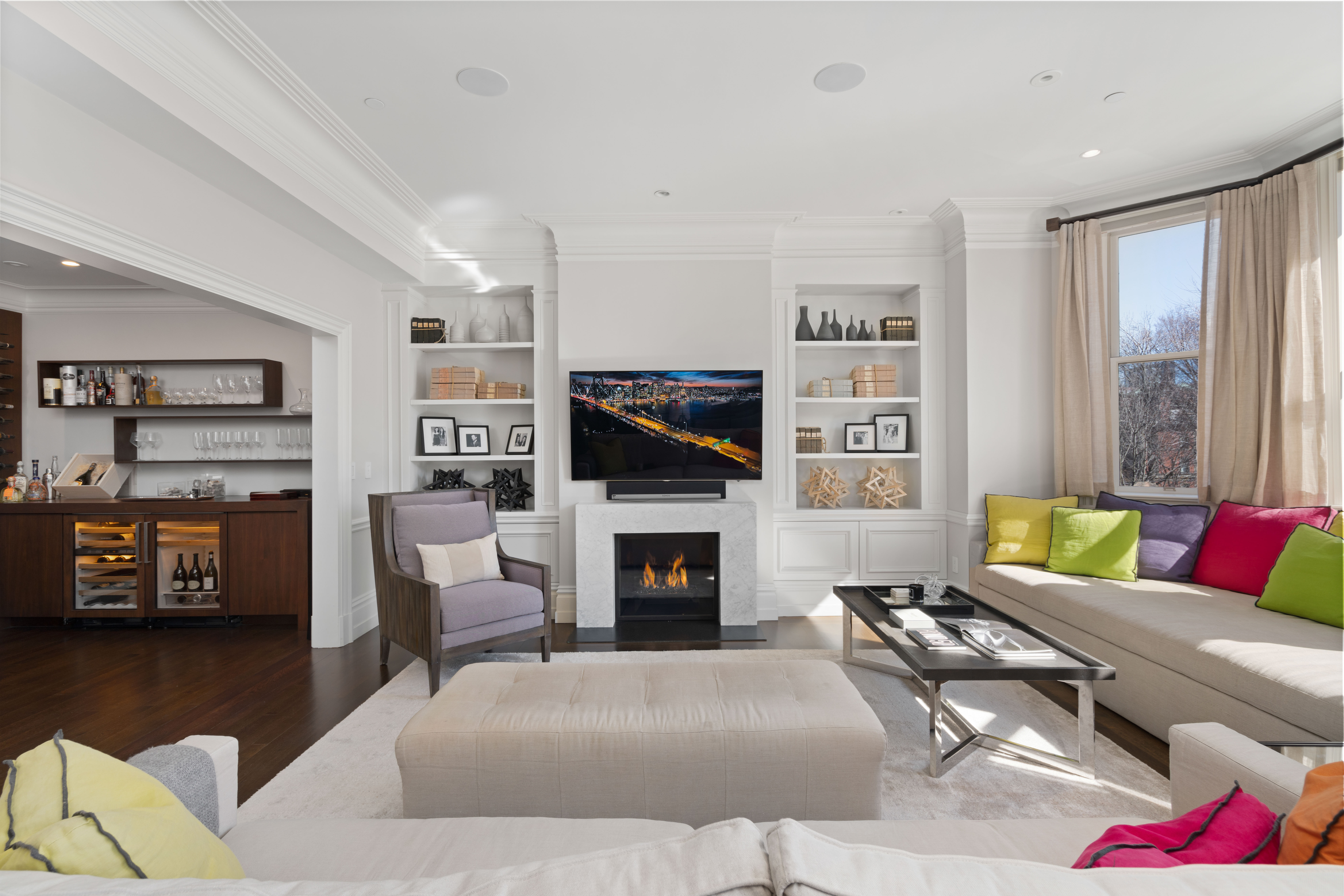Vibrant Sitting Room