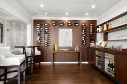 Sacha Jacq Interiors - Modern Wine Room