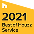 Award logo for Best of Houzz Service 2021