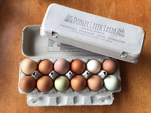 TWO ROOTS Egg CSA - Weekly