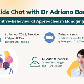Fireside Chat #04: Cognitive-Behavioural Approaches in Managing Pain