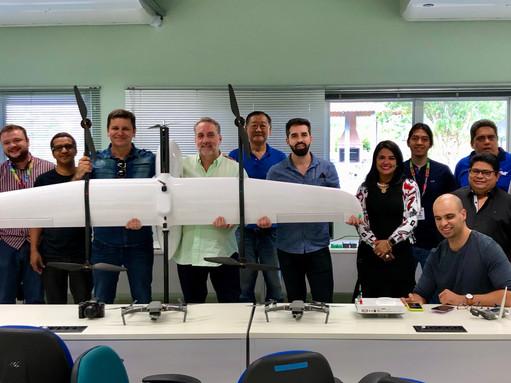 Workshop de Tecnologia VTOL e Vigilância Aérea no INDT - Instituto de Desenvolvimento Tecnológico