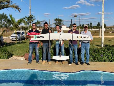 A serviço da Ruraltech, área de 5.000 hectares é levantada com aeronave Vtol  em Goiás em 2018