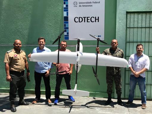 O Evento de Lançamento do Laboratório de Automação Robótica Aeronáutica na UFAM foi um sucesso.