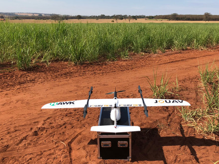 O modelo CW-10 JOUAV é sucesso garantido no Agronegócio Brasileiro.