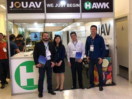 Participação da Hawk Geo no DroneShow