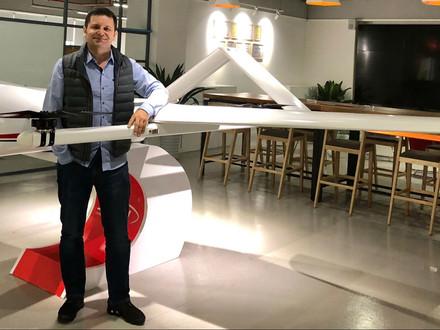 Mini Bio do Cmte. Aimoré Dias,  Co-Founder e CEO da empresa  de IA - Nave Agrospace.