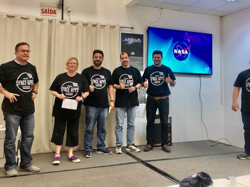 Foi uma honra participar da Banca de Jurados do International Space Apps Challenge www.hawkgeo.com