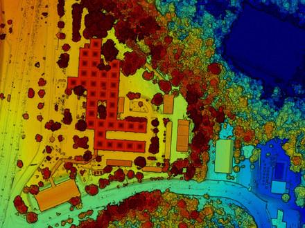 MDS - Modelo Digital de Superfície da Superintendência da Suframa, Manaus-AM
