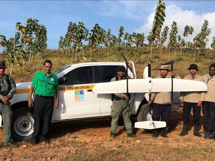 WorkShop e Demonstração de Tecnologia VTOL para o Ministério do Meio Ambiente do Panamá.