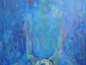 Flower Girl blue