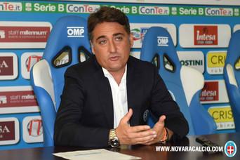 """Boscaglia: """"Vogliamo vincere domani. Gara dura, l'Ascoli venderà cara la pelle"""""""