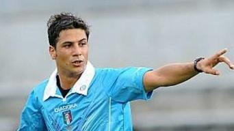 Gianluca Manganiello l'arbitro del recupero col Cesena