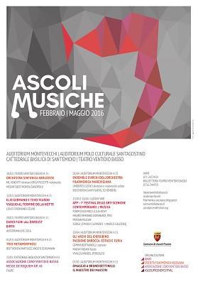 """""""Ascoli musiche"""", domani concerto col violoncellista Umberto Clerici"""