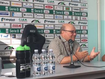 Ascoli-Cesena 1-3, complice un gol fantasma. Bellini soddisfatto della squadra