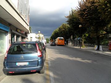 Viale De Gasperi: i lavori si concluderanno a luglio, fontana inclusa