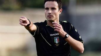 Martinelli designato per Ascoli - Spezia