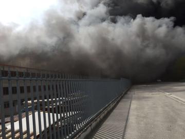 Incendio Italpannelli, aperto un fascicolo dalla Procura. Pompiere all'ospedale