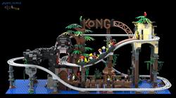 LEGO Kong the Coaster FULL AwesomeClub W