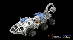 LEGO MARS ROVER for Australian Space Age