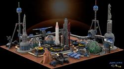 LEGO Occupy Mars AwesomeClub Wallpaper 1