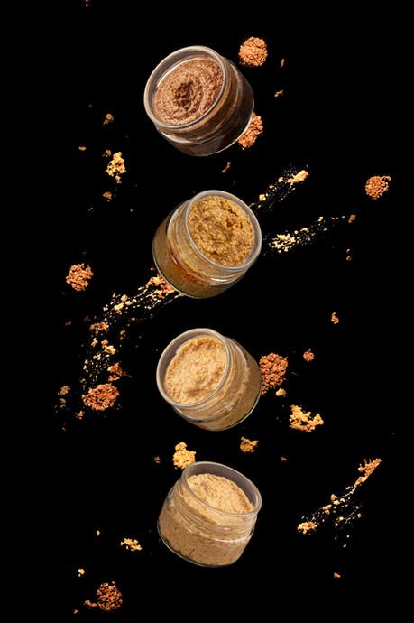 Crèmes de Moutardes Les cosmétibles