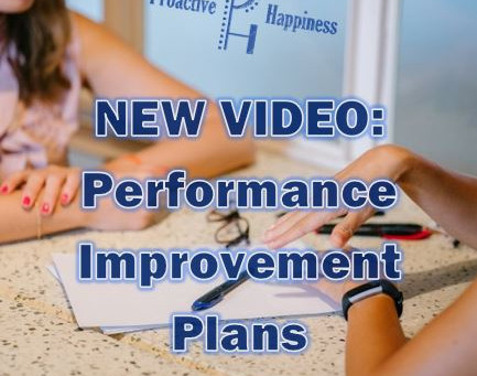 Performance Improvement Plans (the PIP)