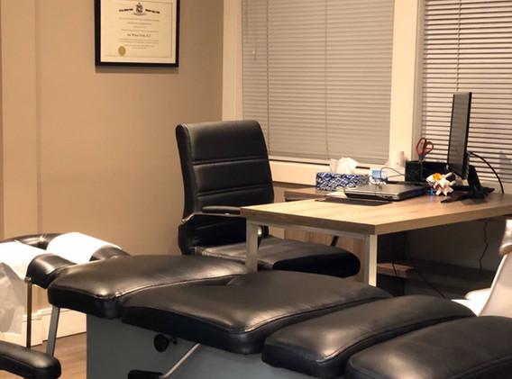 Evergreen Rehab & Wellness Coquitlam Clinic Director's Room