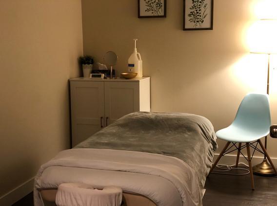 Evergree Rehab & Wellness Massage Room