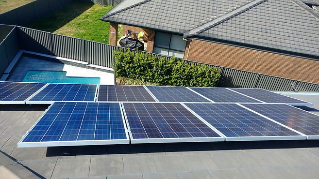 Solar Installation | Renewable Energy | Aurora Solar | Western Sydney, Australia