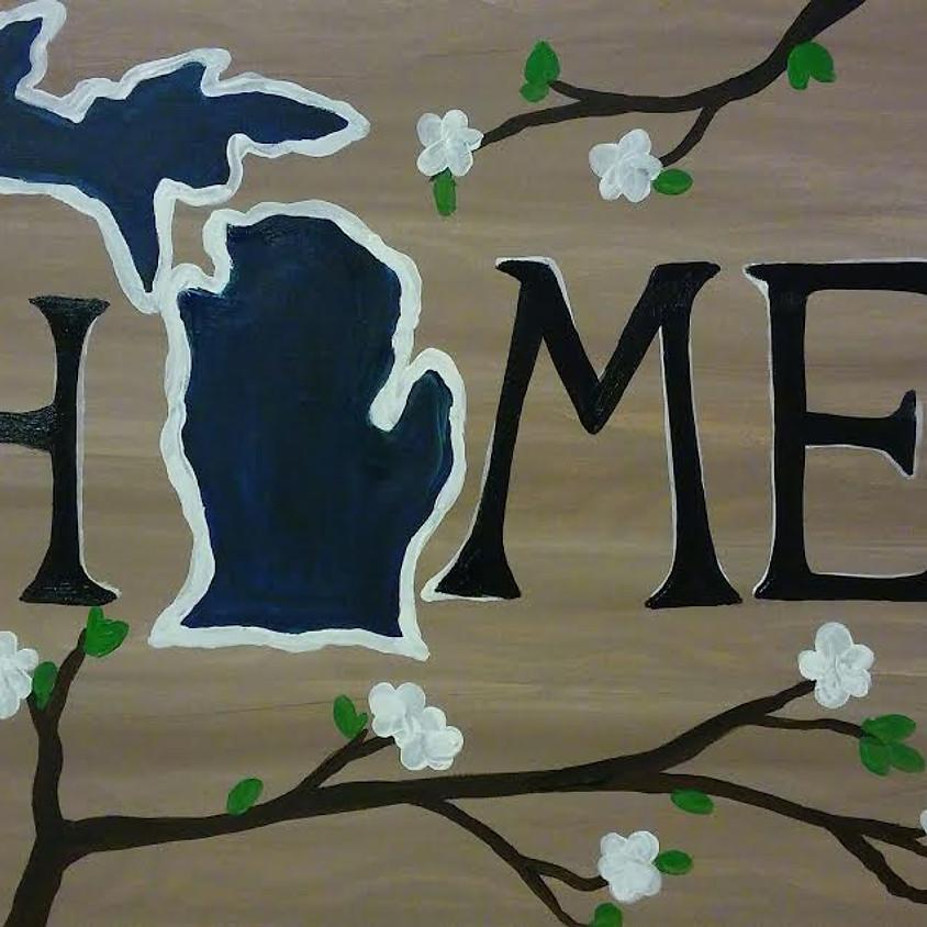 Virtual Paint - I Love Michigan