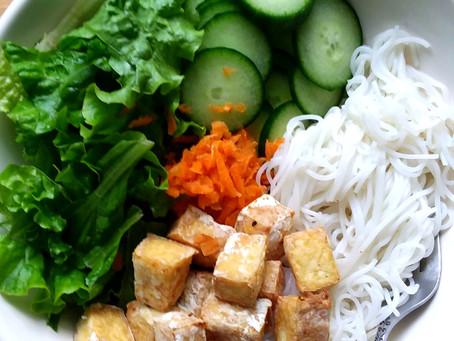 Crispy Tofu Bún