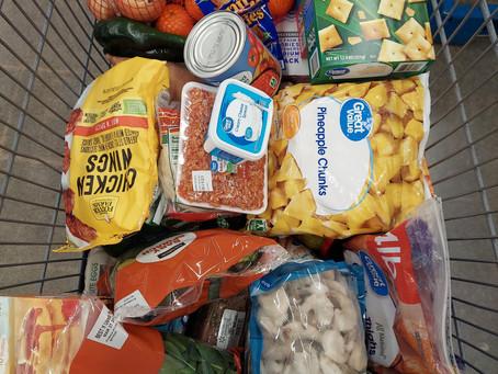 Massive Staple Grocery Haul
