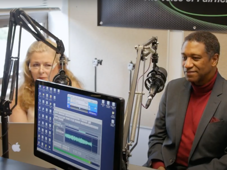 """Mark S. Doss is interviewed on """"Center Stage with Pamela Kuhn"""""""