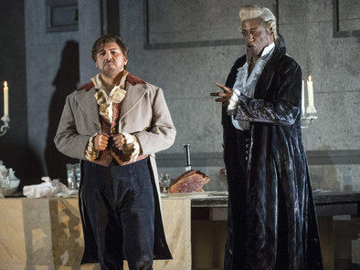 Mark S. Doss as Scarpia in WNO's TOSCA