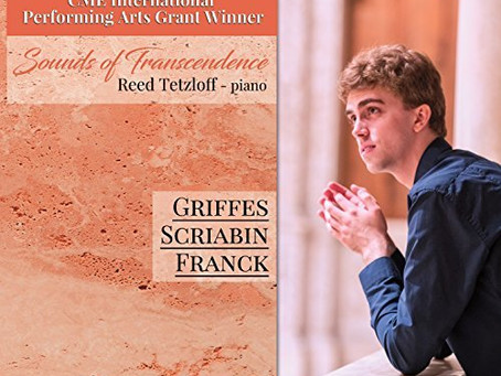 """Marc Rochester reviews Reed Tetzloff's """"Sounds of Transcendence"""""""