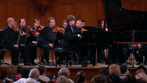 W. A. Mozart. Piano Concerto 23 in A major, K. 488  with the Moscow Soloists Chamber Orchestra, Ayrton Desimpelaere   Recorded at the Great Hall of the Moscow Conservatory, on  June 24, 2015