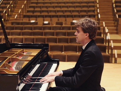"Pianist Reed Tetzloff featured on ""The Music Treasury"" with Dr. Gary Lemco"
