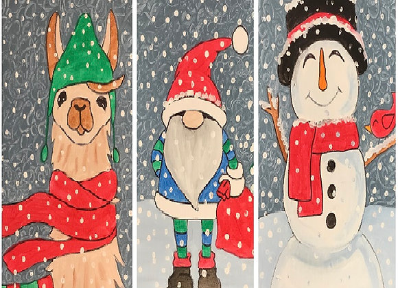 NEW Winter Wonderland Paint Kit - Pick Two