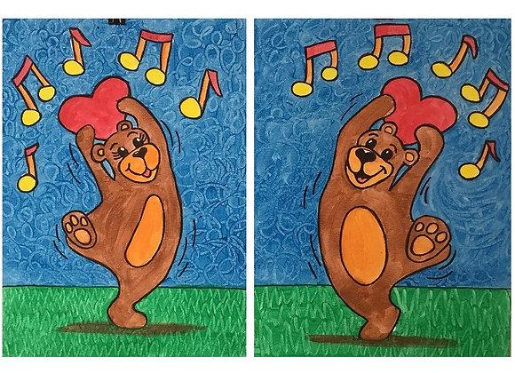 Dancing Bears Paint Kits