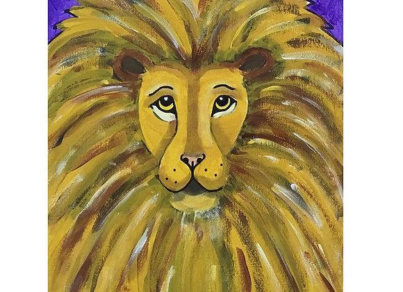 NEW Lion Paint Kit