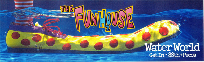 WATER WORLD FUNHOUSE OUTDOOR